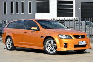 2010 Holden Commodore VE MY10 SV6 Sportwagon Gold 6 Speed Sports Automatic Wagon.