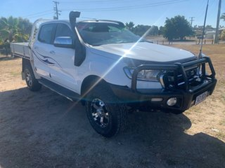 2017 Ford Ranger White 6 Speed Automatic Double Cab.