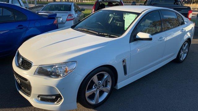 Used Holden Commodore VF II MY16 SV6 Maitland, 2015 Holden Commodore VF II MY16 SV6 White 6 Speed Sports Automatic Sedan