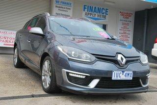 2015 Renault Megane K95 MY14 GT-Line Grey 6 Speed Automatic Wagon