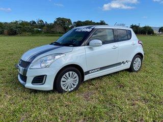 2014 Suzuki Swift FZ MY13 GL White 4 Speed Automatic Hatchback