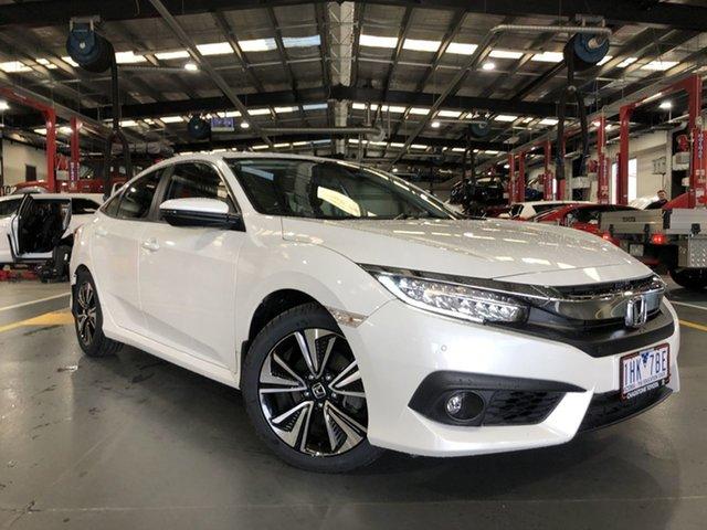 Pre-Owned Honda Civic MY16 VTi-LX Oakleigh, 2016 Honda Civic MY16 VTi-LX Continuous Variable Sedan