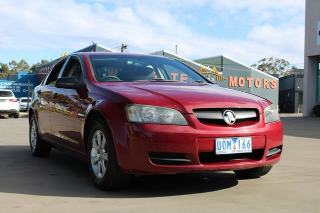 Used Holden Commodore VE Omega (D/Fuel) West Footscray, 2006 Holden Commodore VE Omega (D/Fuel) Red 4 Speed Automatic Sedan