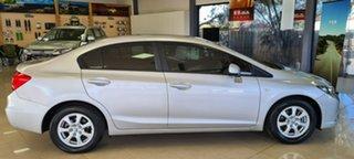 2014 Honda Civic 9th Gen Ser II MY13 VTi Silver 5 Speed Sports Automatic Sedan
