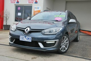 2015 Renault Megane K95 MY14 GT-Line Grey 6 Speed Automatic Wagon.