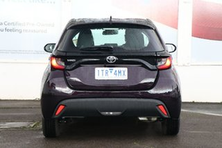 2021 Toyota Yaris Mxpa10R Ascent Sport Scarlet 1 Speed Constant Variable Hatchback