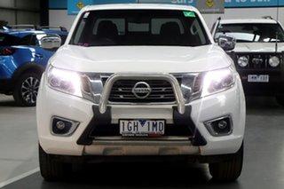 2015 Nissan Navara NP300 D23 ST (4x2) White 7 Speed Automatic Dual Cab Utility