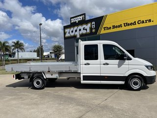 2018 Volkswagen Crafter SY1 MY19 35 LWB FWD TDI410 White/260619 8 Speed Automatic Cab Chassis.