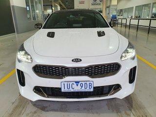 2019 Kia Stinger CK MY19 GT Fastback White 8 Speed Sports Automatic Sedan.