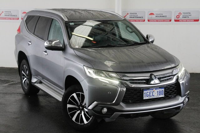 Pre-Owned Mitsubishi Pajero Sport QE Exceed (4x4) Rockingham, 2016 Mitsubishi Pajero Sport QE Exceed (4x4) Grey 8 Speed Automatic Wagon