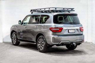 2019 Nissan Patrol Y62 Series 5 MY20 TI-L Grey 7 Speed Sports Automatic Wagon.