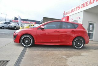 2009 Mazda 3 BL SP25 Red 5 Speed Automatic Hatchback.