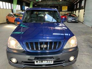 2002 Hyundai Terracan Blue 5 Speed Manual Wagon.