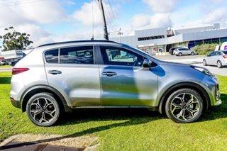 2021 Kia Sportage QL MY21 GT-Line AWD Steel Grey 6 Speed Sports Automatic Wagon.