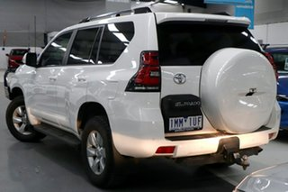 2018 Toyota Landcruiser Prado GDJ150R MY17 GXL (4x4) White 6 Speed Automatic Wagon.