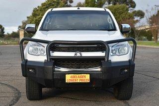 2015 Holden Colorado RG MY16 LTZ Crew Cab White 6 Speed Sports Automatic Utility.