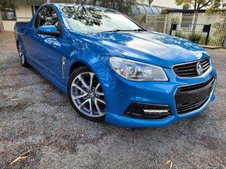2013 Holden Ute VF MY14 SV6 Ute Blue 6 Speed Manual Utility.