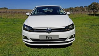 2021 Volkswagen Polo AW MY21 70TSI DSG Trendline Pure White 7 Speed Sports Automatic Dual Clutch.