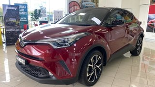 2017 Toyota C-HR NGX10R Koba S-CVT 2WD Red 7 Speed Constant Variable Wagon