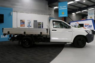 2016 Toyota Hilux TGN121R Workmate White 6 Speed Automatic Cab Chassis