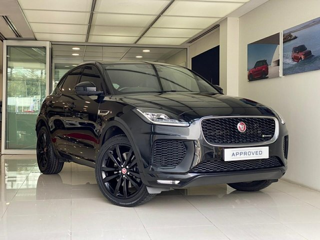 Used Jaguar E-PACE X540 18MY Standard R-Dynamic S Brookvale, 2018 Jaguar E-PACE X540 18MY Standard R-Dynamic S Black 9 Speed Sports Automatic Wagon