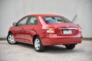 2011 Toyota Yaris NCP93R MY11 YRS Red 4 Speed Automatic Sedan.