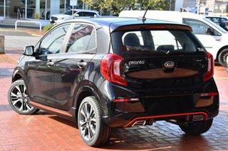 2020 Kia Picanto JA MY21 GT Aurora Black Pearl 5 Speed Manual Hatchback.