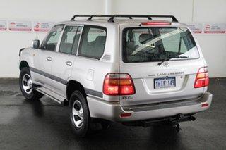 2001 Toyota Landcruiser HZJ105R GXL (4x4) Warm Silver 4 Speed Automatic 4x4 Wagon.