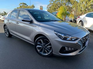 2020 Hyundai i30 PD.V4 MY21 Active Silver 6 Speed Sports Automatic Hatchback.