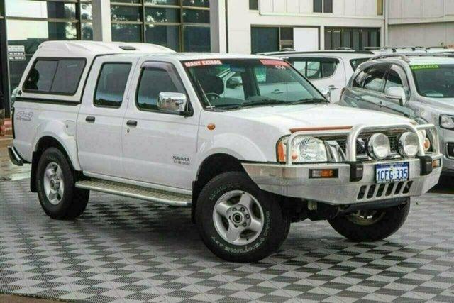 Used Nissan Navara D22 MY2003 ST-R Attadale, 2004 Nissan Navara D22 MY2003 ST-R White 5 Speed Manual Utility