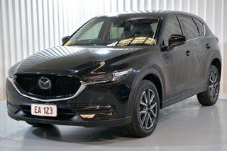 2017 Mazda CX-5 KE1022 Akera SKYACTIV-Drive i-ACTIV AWD Black 6 Speed Sports Automatic Wagon.