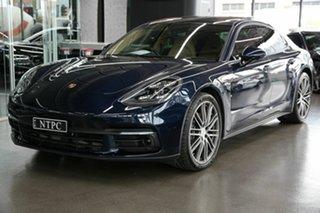 2017 Porsche Panamera 971 MY18 PDK Blue 8 Speed Sports Automatic Dual Clutch Sedan