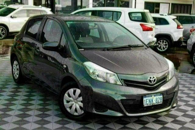 Used Toyota Yaris NCP130R YR Attadale, 2014 Toyota Yaris NCP130R YR Grey 4 Speed Automatic Hatchback