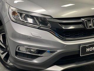 2016 Honda CR-V RM Series II MY17 VTi-L Lunar Silver 5 Speed Sports Automatic Wagon.
