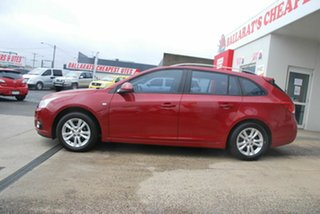 2013 Holden Cruze JH MY13 CD Red 6 Speed Automatic Sportswagon.