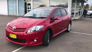 2012 Toyota Corolla ZRE182R Levin ZR Red 6 Speed Manual Hatchback