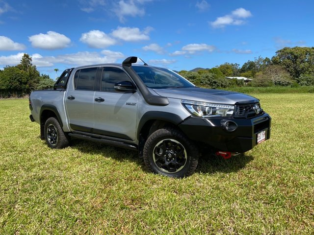 Pre-Owned Toyota Hilux Atherton, 4x4 Rugged X 2.8L T Diesel Manual Double Cab