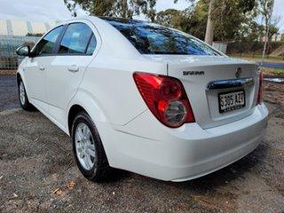 2013 Holden Barina TM MY14 CD White 6 Speed Automatic Sedan