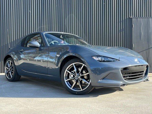 Demo Mazda MX-5 ND GT RF SKYACTIV-MT Mornington, 2021 Mazda MX-5 ND GT RF SKYACTIV-MT Polymetal Grey 6 Speed Manual Targa