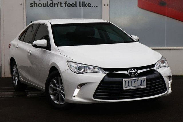 Pre-Owned Toyota Camry ASV50R Altise Ferntree Gully, 2016 Toyota Camry ASV50R Altise Diamond White 6 Speed Sports Automatic Sedan