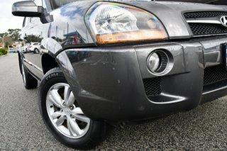 2009 Hyundai Tucson JM MY09 City SX Grey 5 Speed Manual Wagon.