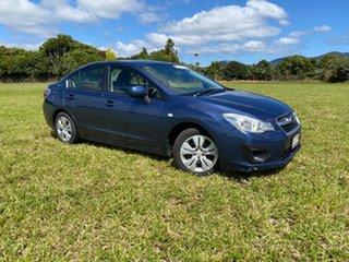 2013 Subaru Impreza MY13 2.0I-L (AWD) Blue Continuous Variable Sedan.