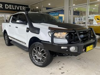 2017 Ford Ranger FX4 White Sports Automatic Double Cab Pick Up.