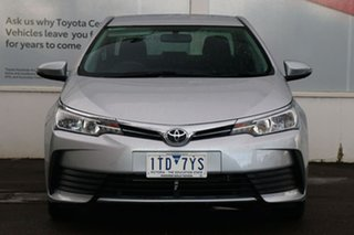 2018 Toyota Corolla ZRE172R Ascent S-CVT Silver Ash 7 Speed Constant Variable Sedan.