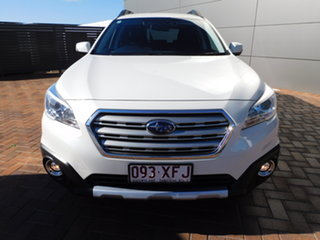 2016 Subaru Outback B6A MY17 2.5i CVT AWD White 6 Speed Constant Variable Wagon