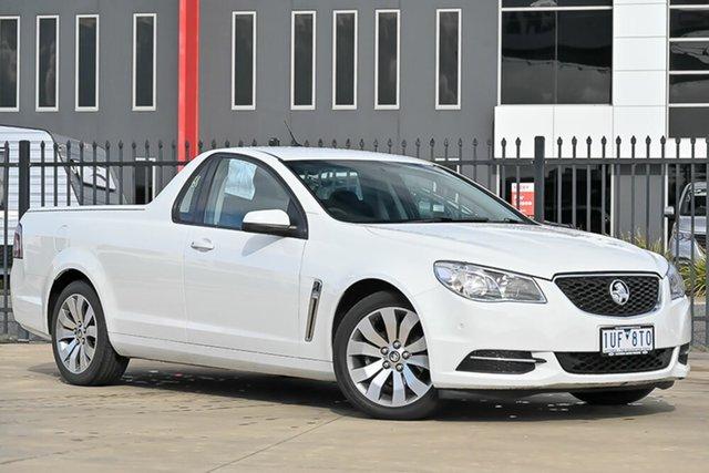 Used Holden Ute VF II MY17 Ute Pakenham, 2017 Holden Ute VF II MY17 Ute White 6 Speed Sports Automatic Utility