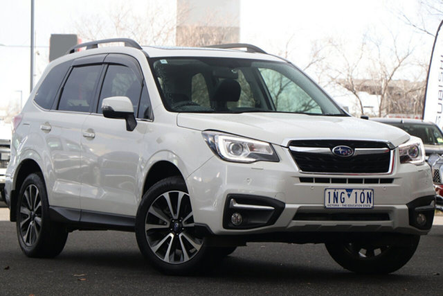 Used Subaru Forester S4 MY17 2.0D-S CVT AWD Essendon North, 2017 Subaru Forester S4 MY17 2.0D-S CVT AWD White 7 Speed Constant Variable Wagon