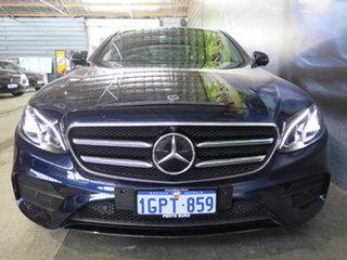2018 Mercedes-Benz E-Class W213 808MY E200 9G-Tronic PLUS Cavansite Blue 9 Speed Sports Automatic.