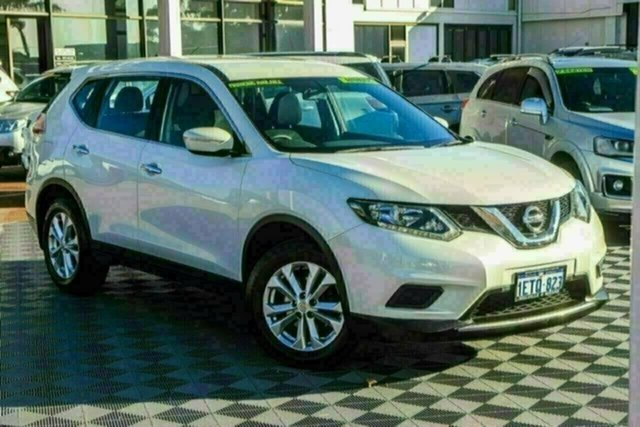 Used Nissan X-Trail T32 ST X-tronic 2WD Attadale, 2015 Nissan X-Trail T32 ST X-tronic 2WD White 7 Speed Constant Variable Wagon