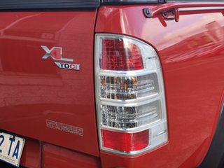 2010 Ford Ranger PK XL Crew Cab 4x2 Red 5 Speed Automatic Utility